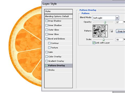 rotate pattern overlay in photoshop make orange and lemon in photoshop text and video