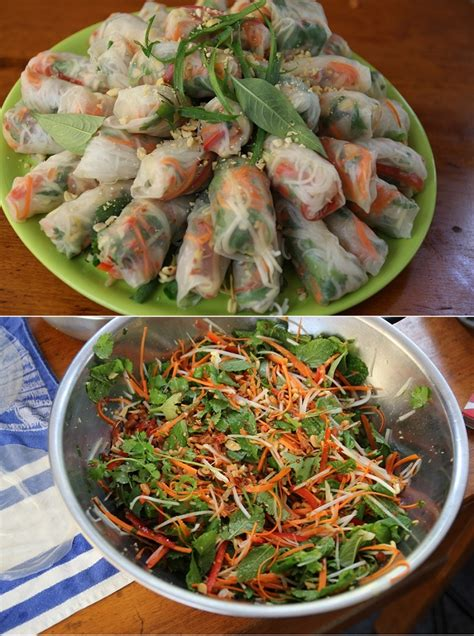 How To Make Rice Paper Wraps - how to make rice paper rolls my kitchen stories