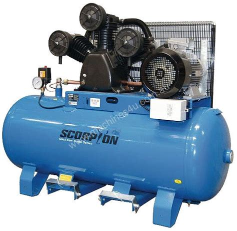 new scorpion scorpion air compressor 3 phase three phase compressor in rockhton qld