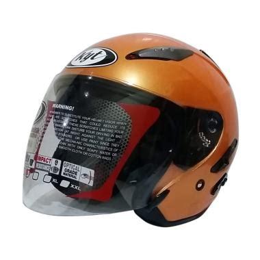 Helm Kyt Galaxy jual kyt galaxy helm half orange metalik harga kualitas terjamin blibli