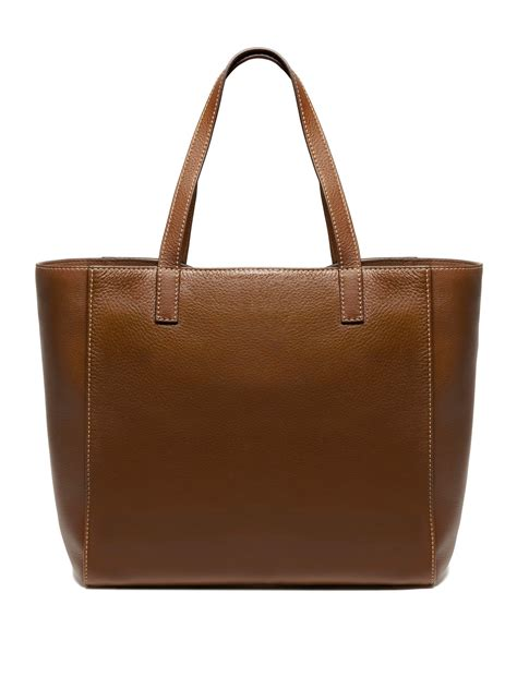 Artist Julie Verhoeven For Designer Mulberry Shopper Tote by Mulberry Tessie Tote Bag In Brown Lyst