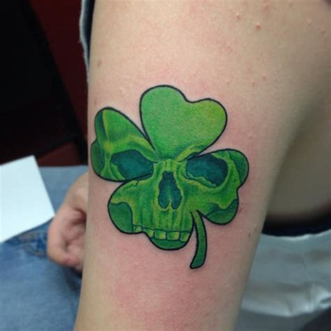 4 leaf clover tattoos for men 60 four leaf clover ideas and designs dzinemag