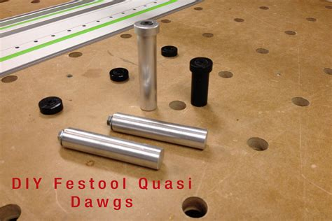 festool mft bench dogs diy festool quasi dawgs youtube