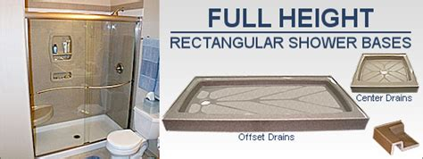 Bathtub Drain Cleaning The Onyx Collection Standard Shower Bases Shower Pans