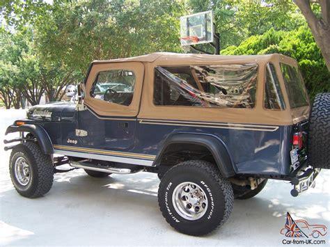 Jeep Scrambler 1982 1982 Cj8 Scrambler