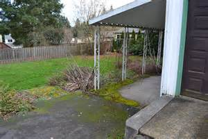 building a carport off side of house enclosing a carport how would you do it doityourself com community forums