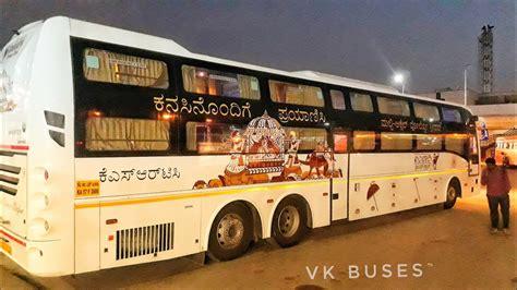 brand  ksrtc volvo ambari dream class sleeper bus youtube