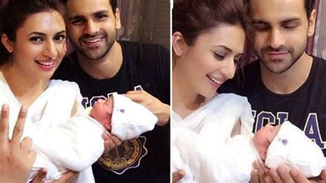 vivek dahiya latest news divyanka tripathi vivek dahiya with a new born baby