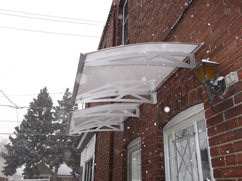 clear awnings for home clear awning in snow sepio weather shelters