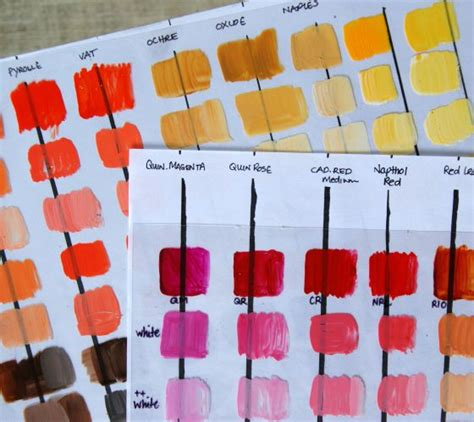 color mixing acrylic paint tutorial color inspiration acrylics tutorials and
