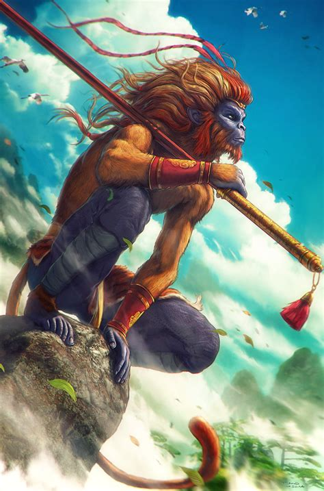 monkey king sun wukong by grafik on deviantart