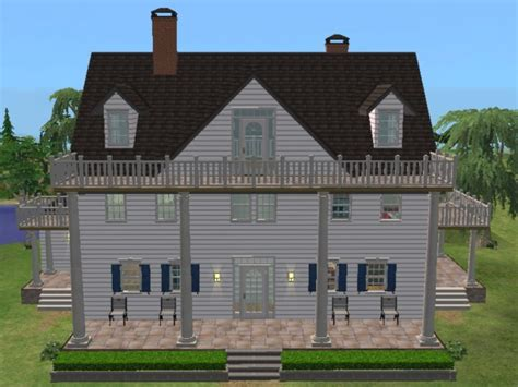 notebook house mod the sims house from quot the notebook quot