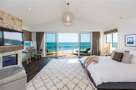 beach house style bedroom malibu road beach home beach style bedroom los