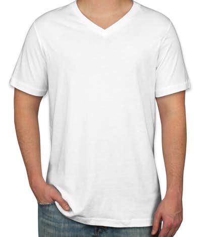 design a shirt vs custom ink custom canvas jersey v neck t shirt design short sleeve