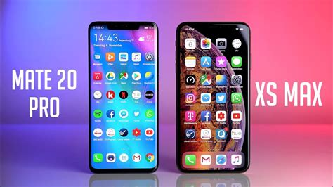 huawei mate 20 pro vs apple iphone xs max swagtab