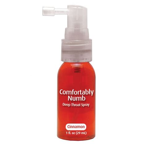 comfortably num comfortably numb deep throat spray desensitiser from