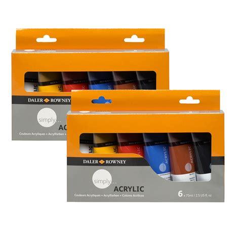 acrylic painting kit india simply acrylic daler rowney