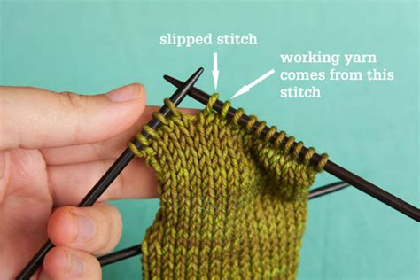 how to yo ssk in knitting how to work a ssk slip slip knit decrease tin can knits