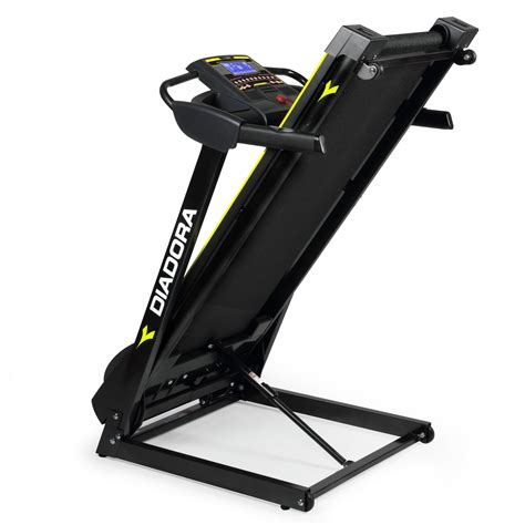 pedana elettrica diadora tapis roulant diadora edge 2 4 inclinazione