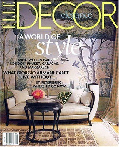 decor magazine subscription just 4 50 for the year