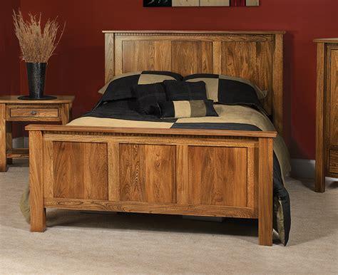 Solid Wood Handmade Furniture - lindholt bed by farmside wood amish solid wood furniture