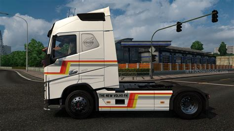 latest volvo truck new volvo fh v2 6 ets 2 mods ets2downloads