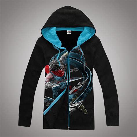 Hoodie Zipper League Of Legends Warung Kaos Sweater 02 1 2017 autumn and winter league of legends sweatshirts zipper hooded sweater lol hoodies