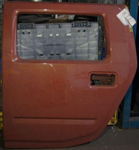 hummer  rear left lh door shell frame fusion orange