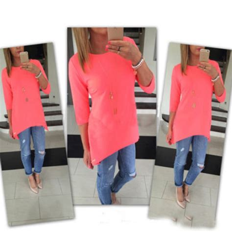 boat neck quarter sleeve top three quarter sleeve boat neck top bellechic