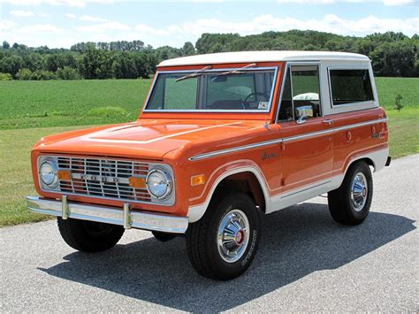 old bronco 1974 ford bronco suv 116420