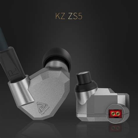Knowledge Zenith Hybrid Earphone Kz Zs5 Limited knowledge zenith hybrid earphone kz zs5 gray jakartanotebook