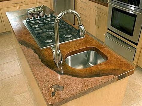 encimera hormigón pulido cocinas empotradas en concreto pulido