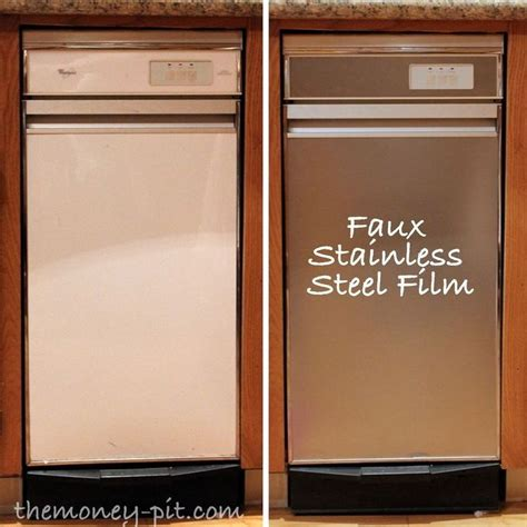 How To Make A Paper Refrigerator - best 25 stainless steel contact paper ideas on