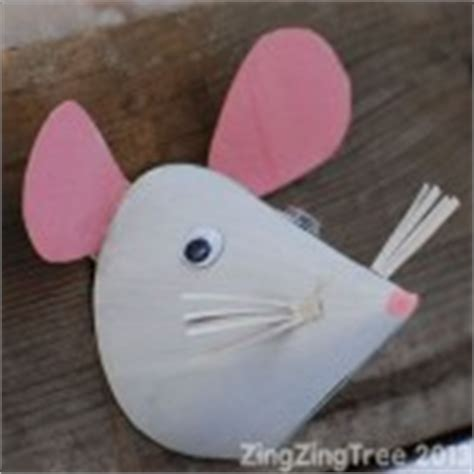 Mouse X Craft cone shaped crafts for preschool crafts and worksheets for preschool toddler and kindergarten