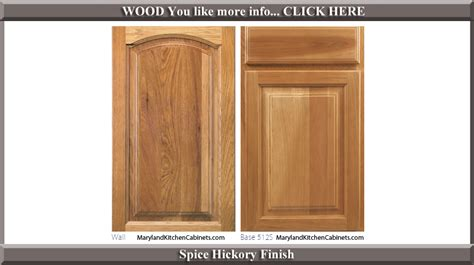 cabinet door world coupon 513 hickory cabinet door styles and finishes