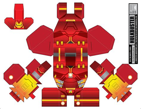 Marvel Papercraft - downloads marvel universe 171 papertoyadventures