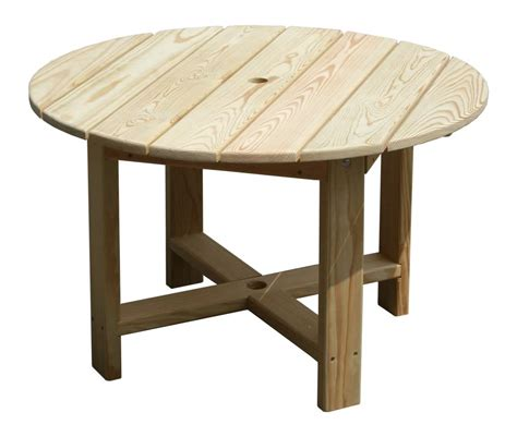 backyard table nice round wood patio table patio design 396