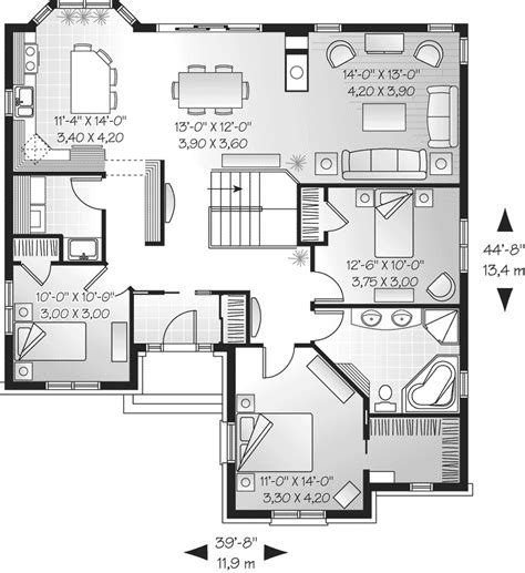 one floor home plans one story mansion floor plans