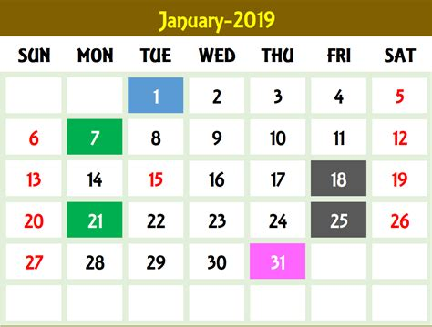 Excel Calendar Template Excel Calendar 2019 2020 Or Any Year 2019 Monthly Calendar Template Excel