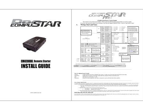 compustar cm4200 wiring diagram efcaviation