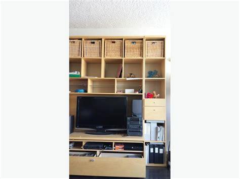 ikea bonde ikea bonde entertainment unit and wall shelving