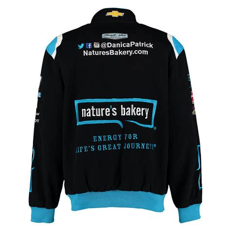 design your own nascar jacket 2016 danica patrick nature s bakery mens black twill