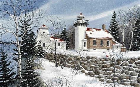 winter  sherwood point kathy glasnap art charming