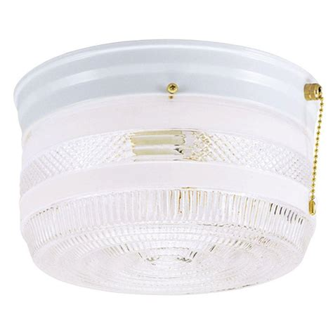 Ceiling Mount Light With Pull Chain by Westinghouse 2 Light Ceiling Fixture White Interior Flush