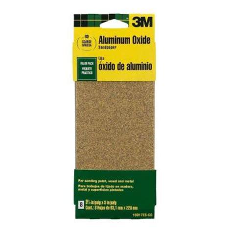 3m 3 66 in x 9 in 60 grit coarse aluminum oxide sand