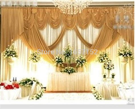 gold wedding backdrop wholesale stage decoration wedding