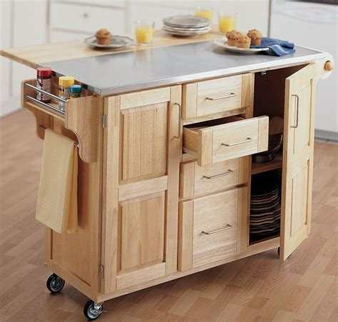 Portable Kitchen Islands With Seating Portable Kitchen Islands With Seating Akomunn