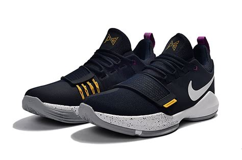 paul george basketball shoes nike zoom pg 1 ep paul george blue basketball shoes