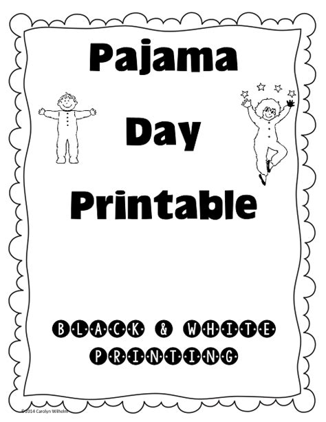 Piyama Sgw Bordir Ducky Kid free coloring pages of pyjama day