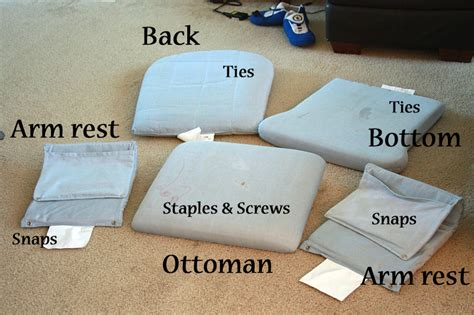 How To Recover Cushions by Runs With Spatulas Crafty Fridays How To Recover A